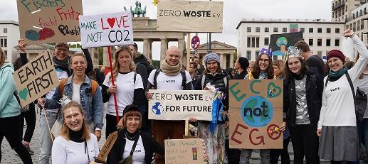 Zero Waste Ev Beim Global Strike