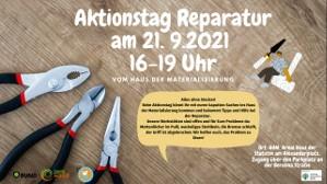 Aktionstag Reparatur im Haus der Materialisierung - Alles ohne Stecker!
