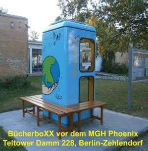 BücherboXX am Mehrgenerationenhaus Phoenix