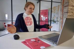 2021 02 19 Restlos Glücklich School Lunch Webinar behind The Scenes Nina Begrüßt Die Schüler Innen