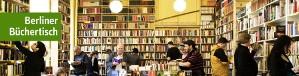 Berliner Büchertisch in der Gneisenaustraße